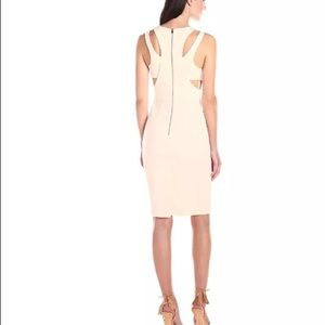 French Connection whisper cutout dress US 6
